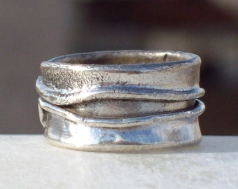 FIRE RING - Silver
