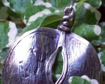 SILVER VULVA - Silver Earrings