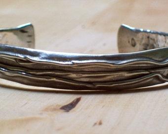 FIRE BRACELET - Silver