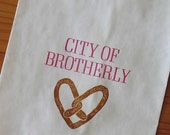 Set of 25- City of Brotherly LOVE - Soft Pretzel bags