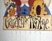 Prim Garden Thyme Windchime