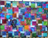 """A Breath of Air Quilted Wall Hanging 38.5"""" x 51.5"""""""
