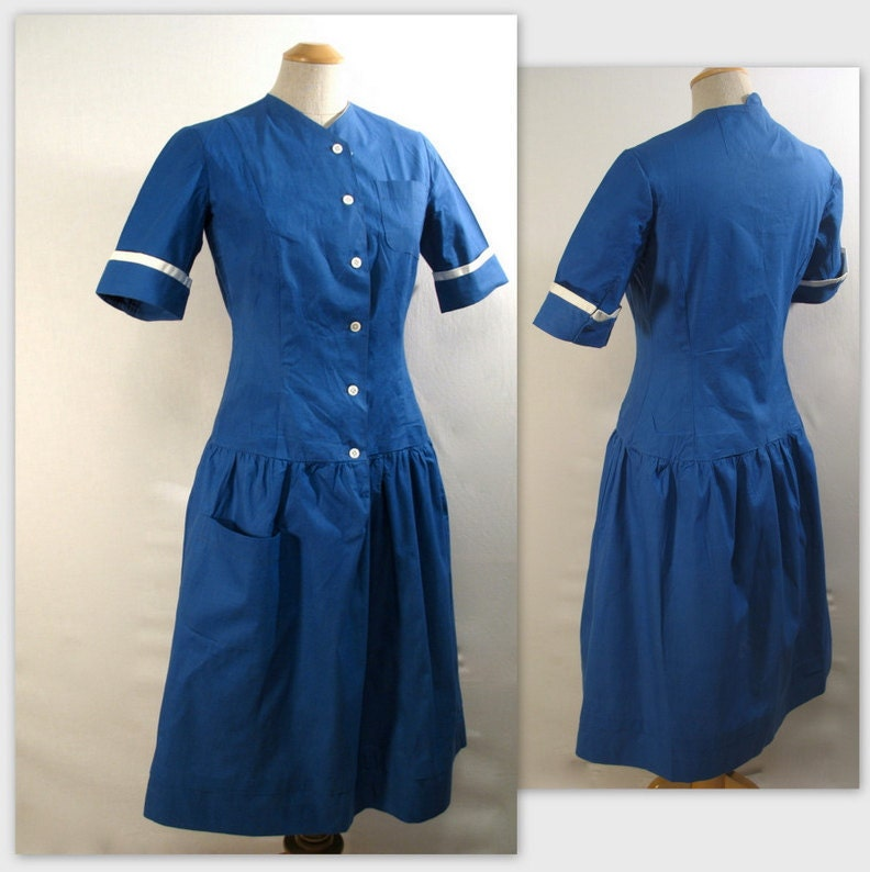 40s good housekeeping dress or hospital uniform