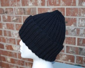 "For Teresa ""earlyofferings"" Black Double Rib Hat"