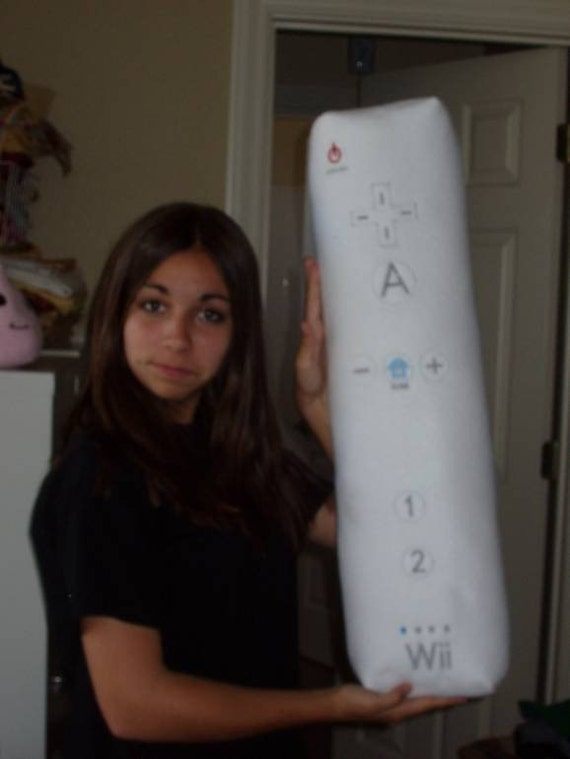 Wii-mote Plushie