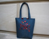 Button Tree Tote