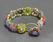 Tutorial - Monet's Garden Bracelet