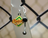 Team Belly Button Ring - Baltimore Orioles