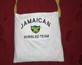 T-Shirt Purse---Jamaican Bobsled Team