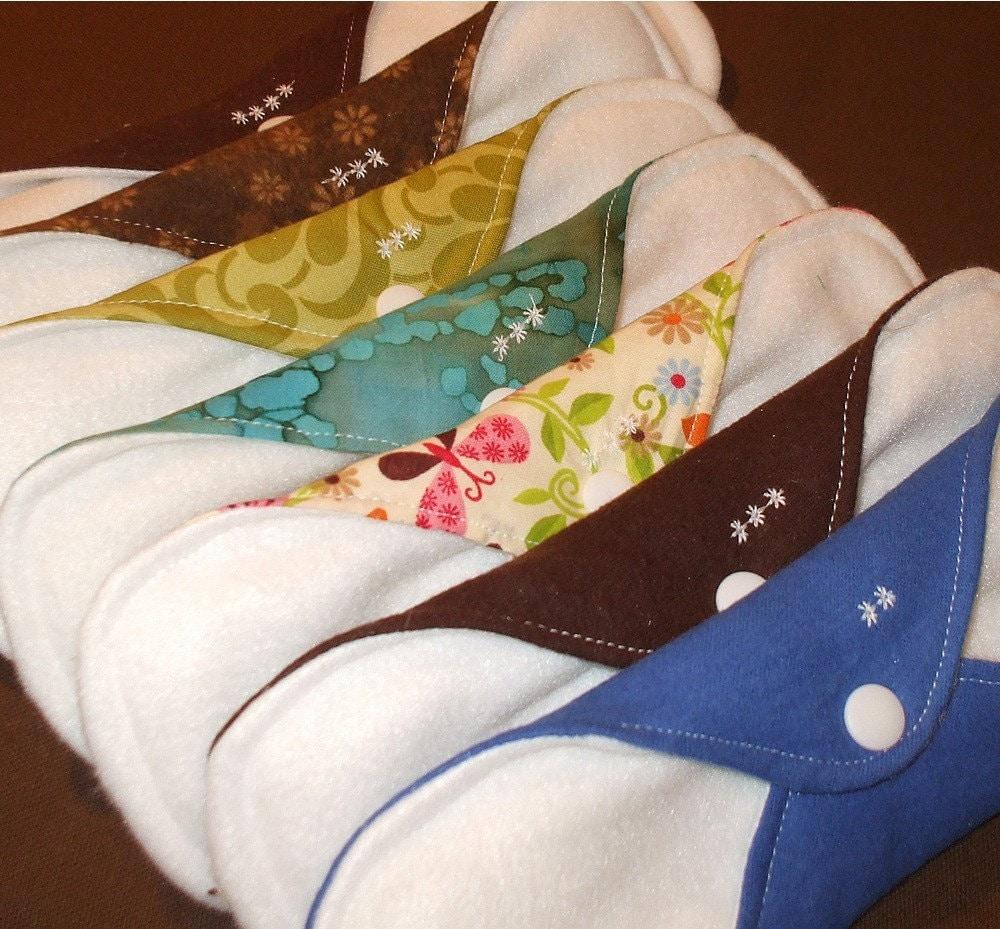 Custom starter set cloth menstrual pads 3 heavy by weeessentials