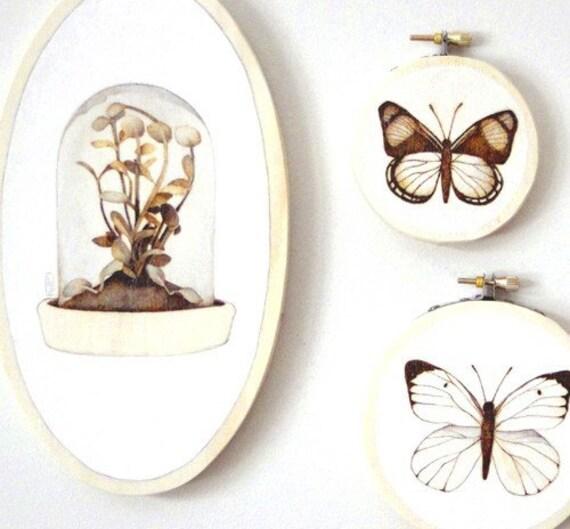 terrarium no. one - original botanical art