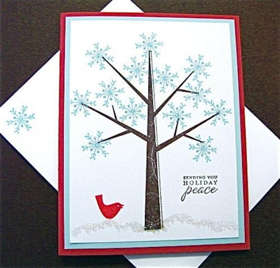 Wintery Glittery Snowflake Tree