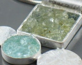 Customize your own Crushed Gemstone Pendant...