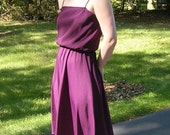 50 Percent Off Vintage Purple Small Short Dress