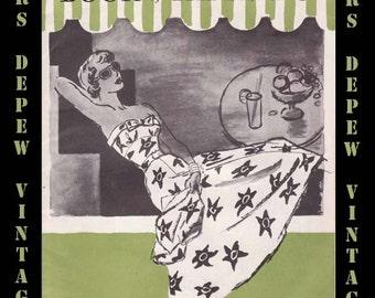 Vintage Pattern Catalog Booklet Summer 1949 Mail Order Patterns  PDF -INSTANT DOWNLOAD-