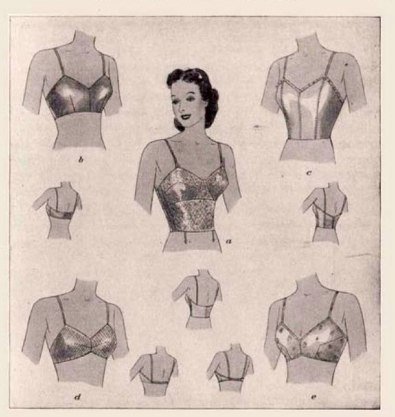 Vintage Sewing Book 1930's Underwear and Lingerie Ebook Parts 1 and 2 Huge How To