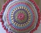 Poogan's Pinwheel Pillow