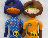 Blue Organic Space Cadet Sew-It-Yourself
