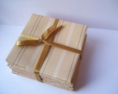 Pack of 10 upcycled envelopes 4 x 4 inches (10cm x 10cm)