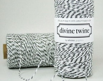 CLEARANCE Black Licorice Divine Twine - Baker's Twine