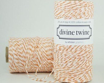 CLEARANCE Orange Divine Twine - Bakers Twine