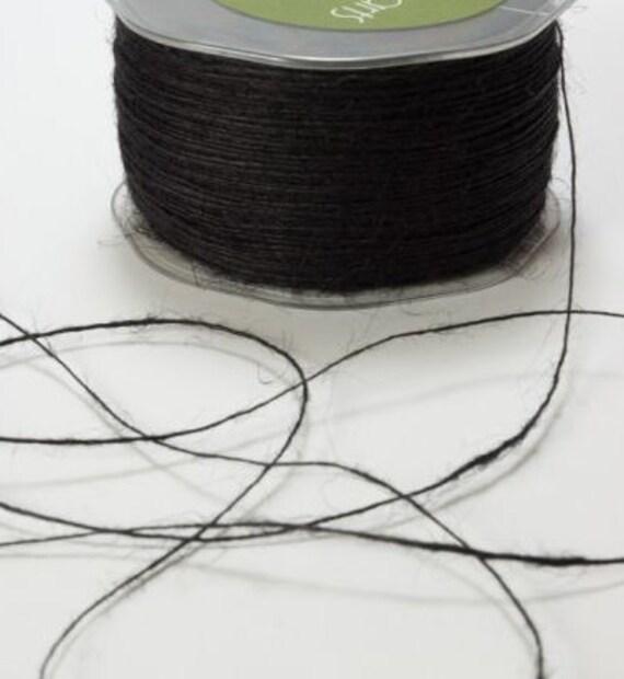 Black Rustic Twine - Jute String
