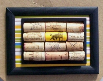 Cork Board used Wine corks Trivet Wine enthusiast lover gifts Home Decor wine bar decoration under 20 recycled repurposed wall hanging