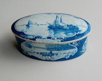 Holland Delft Tin