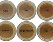 Mineral foundation - samples. Choose 3 colors.