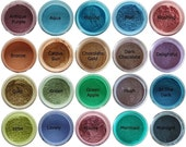 Mineral eyeshadow samples - choose any 5 colors (zip lock bags)