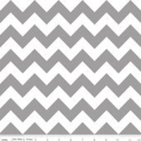 Riley Blake Design Chevron Gray - 1.5 Yard Listing