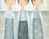 I'll save a place in my heart 2... a print by Katherine Quinn