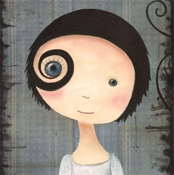 I just want 2... ART PRINT By Katherine Quinn