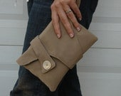 All Wrapped Up Wristlet... Tan