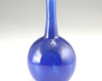 Blue Glass Vase - Free Shipping