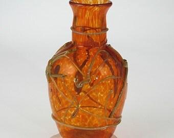 Hand Blown Glass Vase -