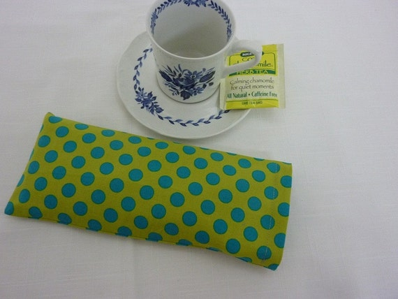 Soothing Aromatherapy Eye Pillow with Removable Cover -  Choice of Herbs