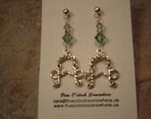 Equestrian Earrings - Sterling Pelham Bits and Swarovski Crystals