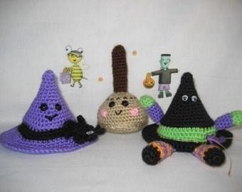 Halloween Happy Hats Crochet Pattern
