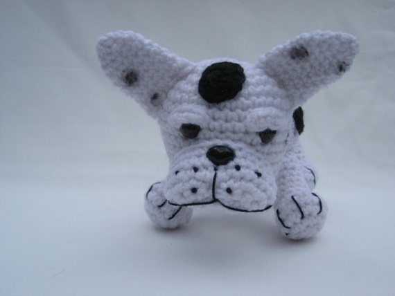 Crochet Pattern French Bulldog Instant Download