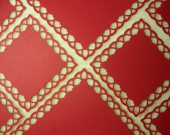 8 Piece Set of Very Elegant Layered Arches Border Scrapbook Photo Mats