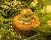 dollhouse miniature fantasy crystal ball for Fairy, Elf, Witch, or Wizard 1:12 scale