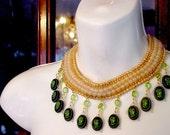 Regency Salon quirky opera neckpiece