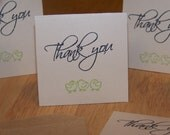 Set of 6 Thank You Mini Notes - Customer Appreciation Notes