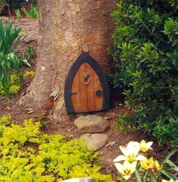 Gnome doors fairy doors faerie doors elf doors 12 by for The faerie door