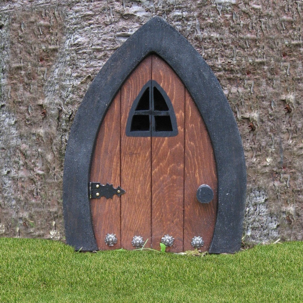 Gnome doors fairy doors faerie doors elf doors 9 by for Fairy house doors