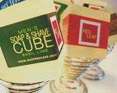 Mens Shaving Soap And Stand For Fathers Day Or Groomsmen From Red Leaf