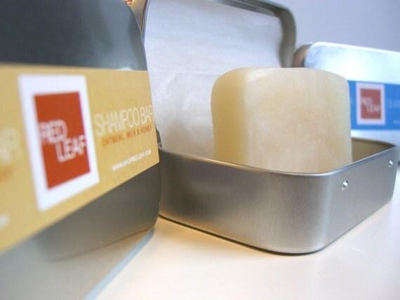 Womens Shampoo Bar with Travel Case.
