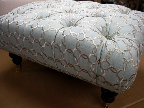 Create Your Own Ottoman, Your Fabric Your Style... by Agamedi Designs