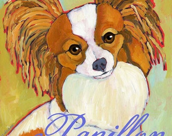 Papillon No. 1 - Set of 6 Blank Cards with Envelopes in Clear sleeve
